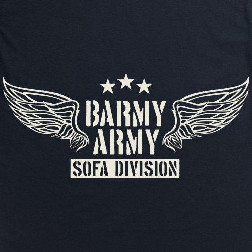 Barmy Army Sofa Division T-Shirt, Herren Schwarz