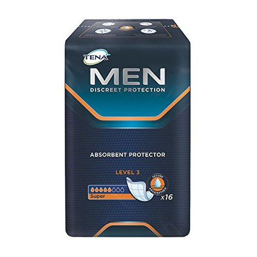 Tena 750830 Men Einlagen, Level III (16-er pack) Test
