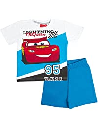 Disney Cars Boys Short Pyjamas Pjs