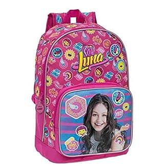 51DDk0Kk20L. SS324  - Disney 33923A Yo Soy Luna Mochila Escolar, 16.93 litros, Color Rosa