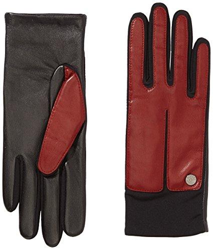 Roeckl Damen Handschuhe Sportive Touch, Einfarbig, Gr. 6.5, Rot (red 450)