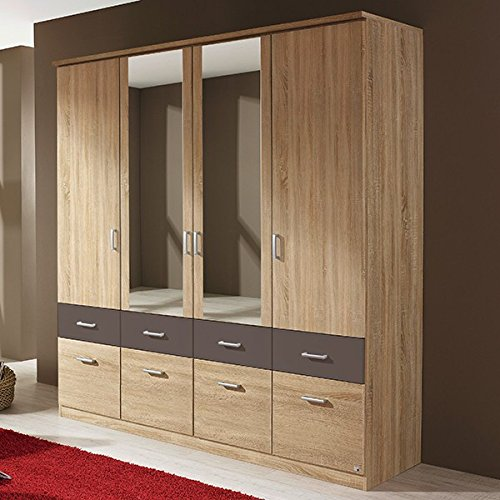 kleiderschr nke in gro er auswahl. Black Bedroom Furniture Sets. Home Design Ideas