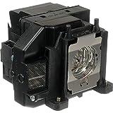 Supermait EP67 L¨mpara de proyector de repuesto con carcasa para Epson Elplp67, apta para EB-S02 / EB-S11 / EB-S12 / EB-SXW11 / EB-SXW12 / EB-W02 / EB-W12 / EB-X02 / EB-X11 / EB -X12 / EB-X14 / EB-X15