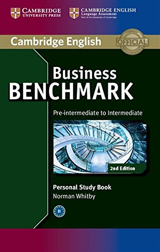 Business Benchmark 2nd Pre-intermediate to Intermediate BULATS and Business Preliminary Personal Study Book