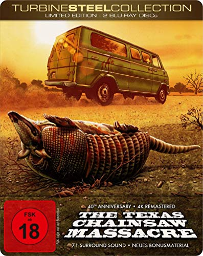 The Texas Chainsaw Massacre - 40th Anniversary Edition (Mastered in 4K Blu-ray + Bonus-Blu-ray im Turbine-Steel)