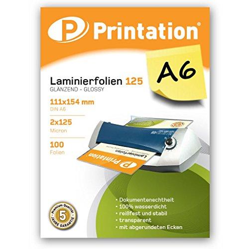 100 Laminierfolien Premium DIN A5 2 x 80 mic.
