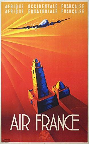air-france-medium-matte-print