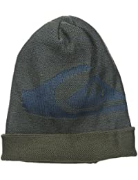 Quiksilver Snow Men's Look Up Beanie, Forest Night, One Size