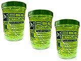 3pots de gel coiffant Eco Styler -946ml (total: 2,84l)