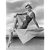 Photo Monroe Marilyn 091 A4 10x8 Poster Print