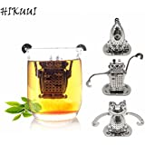 KITCHY 304 Stainless Steel Tea Filter Tea Maker Tea Ball Tools Creative Tools Filter Flower Future Series 3pc/Set