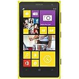 Nokia Lumia 1020-32 Go 4 G-Smartphone-Jaune-(SIM Unique Windows Phone MICRO GSM HSDPA HSUPA WCDMA LTE)