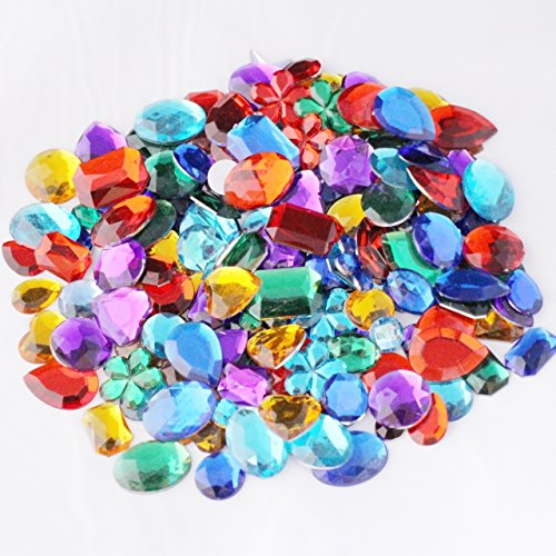 Craft gems for Plastic gems for crafts