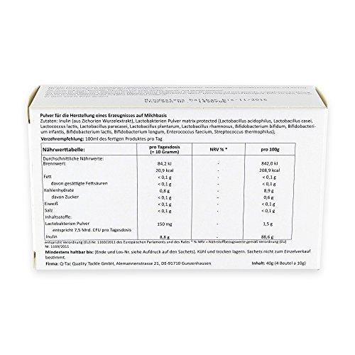 IQv Probiotic Joghurtkulturen zum Anrühren 4×10 g - 5
