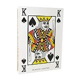 """TRIXES 52 Cartas Gigantes de la Baraja 8""""x 11"""" (203mm x 279mm) Mazo de 52 Cartas y dos Comodines para Jugar a las Cartas"""