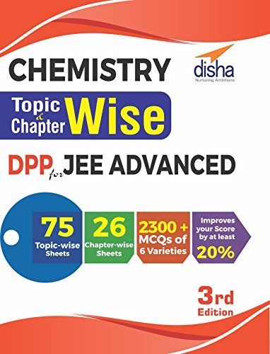 Chemistry Topic-wise & Chapter-wise DPP (Daily Practice Problem) Sheets for JEE Advanced