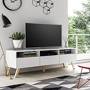 mirjan24 tv schrank oviedo rtv135 tv tisch im skandinavischen stil fernsehtisch lowboard. Black Bedroom Furniture Sets. Home Design Ideas