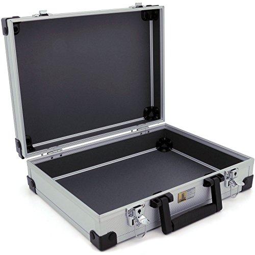 Aluminium Koffer Basic L38 Silber Typ 424150 - 2