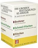 Die Großen Bestimmungsklassiker im Schuber: Brohmer – Fitschen – Schmeil-Fitschen (Quelle & Meyer Bestimmungsbücher)