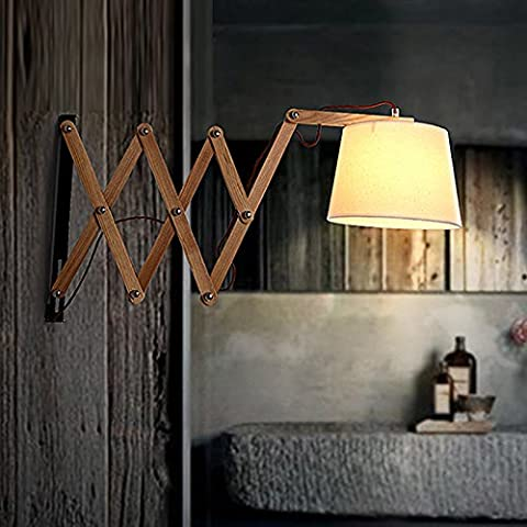 American style industriel en bois mur escamotable village retro lampe applique murale de style européen ancien nordique cafe bar wall lamp wall lamp loft moderne minimaliste creative industries