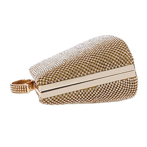 HT , Damen Clutch Gold