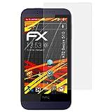 atFolix Folie für HTC Desire 510 Displayschutzfolie - 3 x FX-Antireflex-HD hochauflösende entspiegelnde Schutzfolie