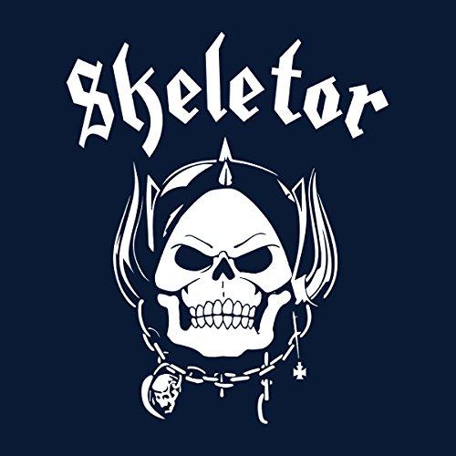 Skeletor With Helmet He Man Masters Of The Universe Men's T-Shirt Navy Blue