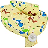 Baby Grow Cotton Fabric Feeding/Nursing Pillow Baby Mother Feeding Pillow Newborn Portable Pillow Perfect Gift For Baby Shower (Yellow Dino)