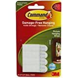 Command Small Picture Hanging Strips, 17202 (1 Pack of 4 Sets)