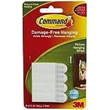 3M Command 17202 - Bandas adhesivas para colgar en la pared, color blanco