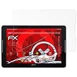 atFoliX Acer Iconia One 10 B3-A32 Anti-Shock Pellicola protettiva - 2 x FX-Shock-Antireflex antiabbagliamento ammortizzante Protettiva di Schermo alta Protezione