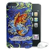 Ed Hardy Zuckerguss Koi designtattoo Hartschale Sony Echt Schutzhülle für iPod Touch 2