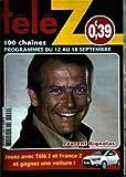TELE Z [No 1409] du 07/09/2009 - LAURENT BIGNOLAS
