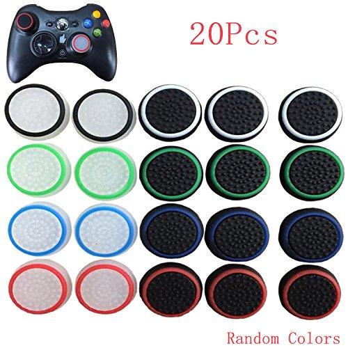 20ST bunt Thumb Stick Joystick Griff Analog Controller Schale Silikonkappe für Sony PlayStation PS4 PS3 Xbox 360 Xbox ein Spiel Zubehör Ersatzteile