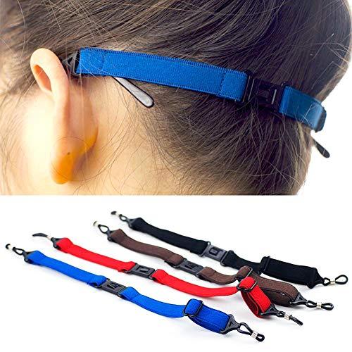Bodhi2000 Sunglass Strap Sport Elastic Brillen Anti-Rutsch-Befestigungsschnur Seil String Brillenhalter Strap Blau