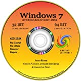 "NEW TOTAL COMPLETE Re INSTALL Repair Restore WINDOWS 7 ""ULTIMATE"" Edition32/64 bit Premium DVD Disk"