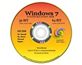NEW TOTAL COMPLETE Re INSTALL Repair Restore WINDOWS 7 'ULTIMATE' Edition32/64 bit Premium DVD Disk