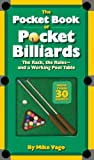 The Pocket Book of Pocket Billiards the Rack, the Rules and a Working Pool Table