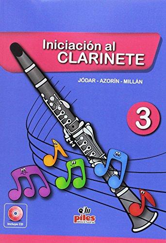 Portada del libro Iniciación al Clarinete 3