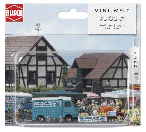 busch-7708-mondo-in-miniatura-banchetto-che-vende-pesce