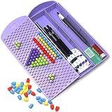 Majik Pencil Box, Puzzle Pencil Box, Geometry Box, Stationary Item For Kids, Best Return Gift Item For Kids Boys And Girls, 45 Gram, Pack Of 1 (Purple)