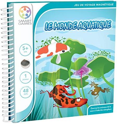 Smart Games - SGT 220 FR - Jeu de de de Société - Le Monde Aquatique | Larges Variétés  2fc31e