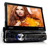 XOMAX XM-DTSB914 Autoradio / Moniceiver + 18 cm / 7' High Definition HD TOUCHSCREEN PANTALLA TACTIL + Audio & Video: MP3 con ID3 TAG, WMA, MPEG4, AVI, DIVX + Bluetooth Manos