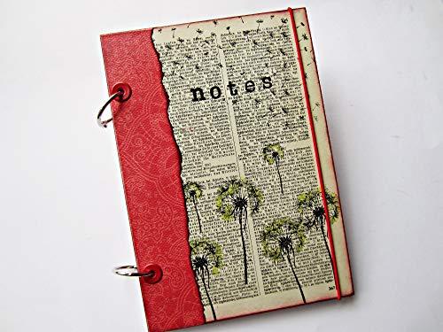 Notizbuch handgemacht, handmade, DIY, Notebook, Kladde, Din A5