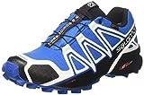 Salomon Herren Speedcross 4 GTX, Trailrunning-Schuhe, Mehrfarbig (White Sensif Indigo Bu), 45 1/3 EU