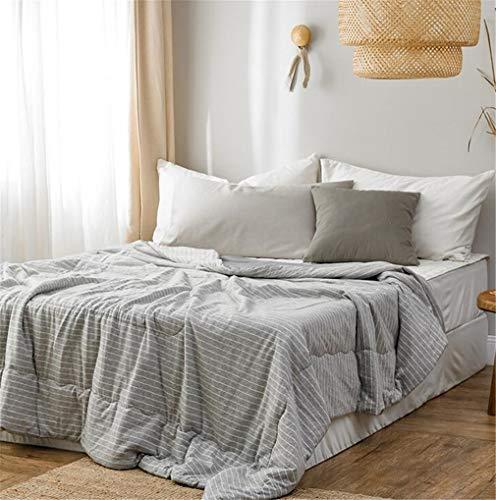 AILEYOU Sommer-Quilts Waschbar Kühle Decke Kinder Quilt Erwachsene Single Doppelt Baumwolle Wohnzimmer Schlafzimmer Dekoration
