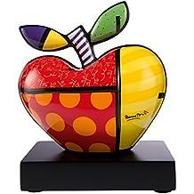 Goebel 66451951 Big Apple - Apfel - Dekofigur - Porzelllan Höhe 17 cm