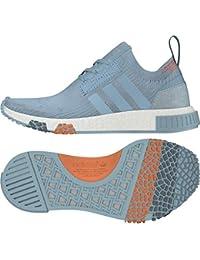 best sneakers c508e c1ed2 adidas NMD Racer PK W – Scarpe da Ginnastica, Donna, Grigio (gricen
