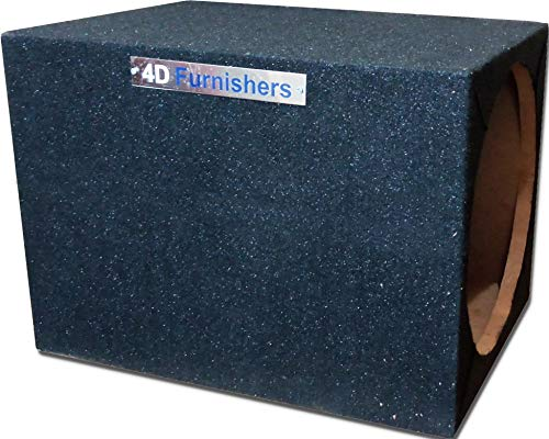 4D Furnishers Empty Enclosure/Box for 12 Inch Subwoofer 4DFSWB121218