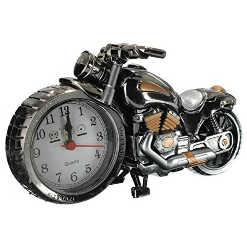 Preisvergleich Produktbild EsportsMJJ Creative Plastic Motorcycle Motorrad Quarz Wecker-Multicolor